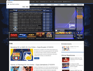 xtremesportshd.com screenshot
