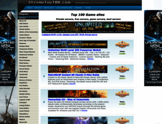 xtremetop100.com screenshot
