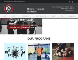 xtremetrainingacademy.com screenshot