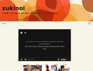 xukinol.wordpress.com screenshot