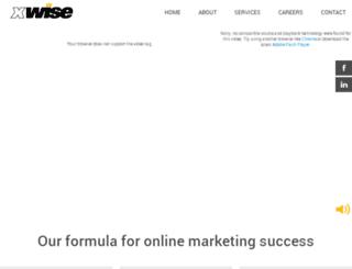 xwise.com screenshot