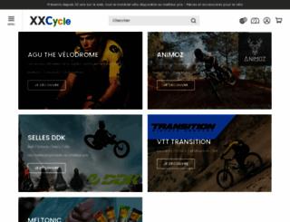 xxcycle.fr screenshot