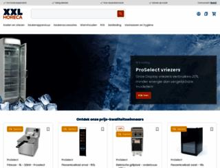 xxlhoreca.com screenshot