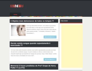 xxneews.blogspot.com.br screenshot