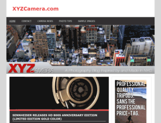xyzcamera.com screenshot