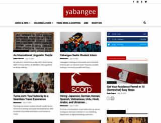 yabangee.com screenshot