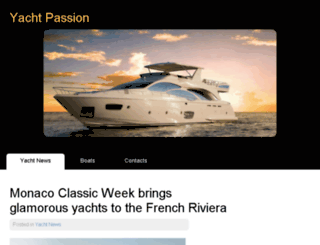 yachtpassion.org screenshot