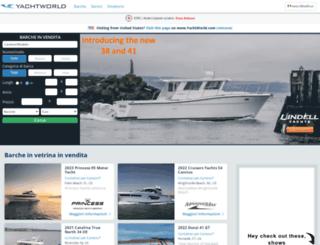 yachtworld.it screenshot