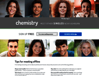 Chemistry online dating site