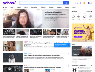 yahoo.com.ph screenshot