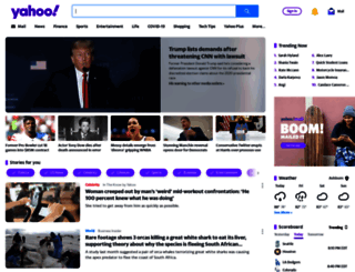 yahoo.com screenshot