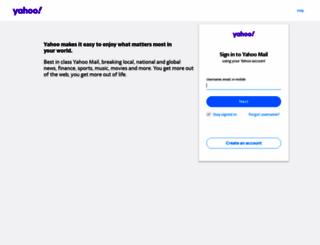 yahoomail.com screenshot