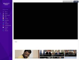 yahooscreen.tumblr.com screenshot