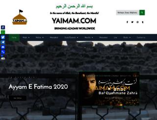 yaimam.com screenshot