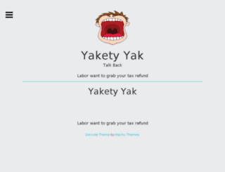 yaketyyak.com.au screenshot