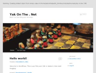 yakonthe.net screenshot