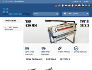 yaktrading.com screenshot