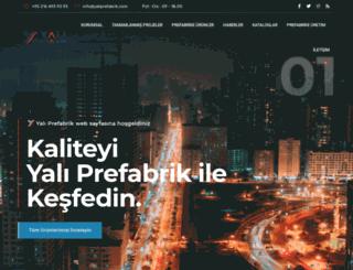 yaliprefabrik.com screenshot
