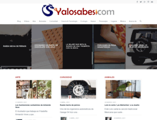 yalosabes.com screenshot