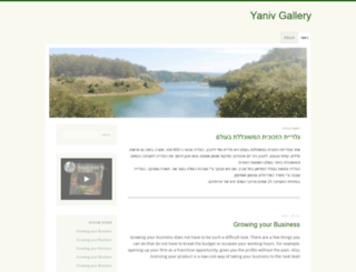yanivgallery.com screenshot