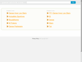 yann-alrick.com screenshot