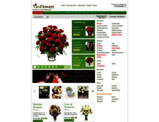yaoflowers.com screenshot