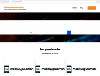 yardim.mobiluygulaman.com screenshot