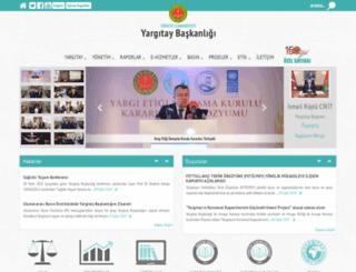 yargitay.gov.tr screenshot
