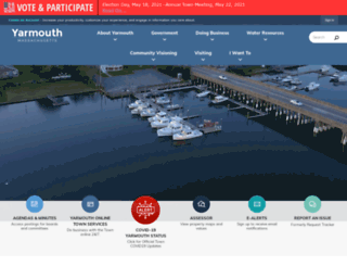 yarmouth.ma.us screenshot