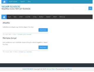 yasamrehberi.yazipkazan.com screenshot