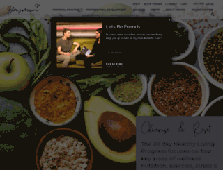yasminyoga.com screenshot