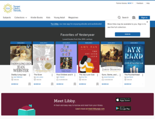 yavapai.libraryreserve.com screenshot