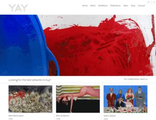 yaygallery.com screenshot
