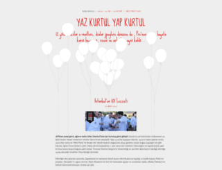 yazkurtulyapkurtul.wordpress.com screenshot