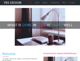 ybsdesign.in screenshot