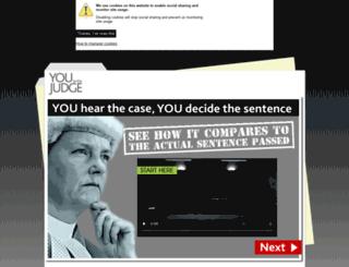 ybtj.justice.gov.uk screenshot