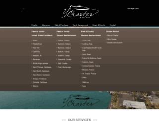 ycharter.com screenshot