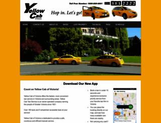 yellowcabvictoria.com screenshot