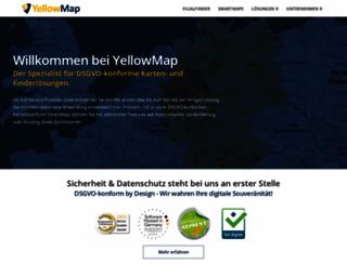 yellowmap.com screenshot