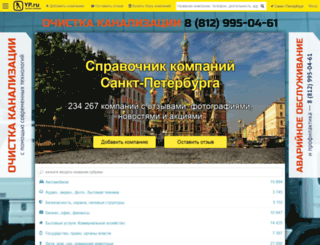 yellowpages.ru screenshot