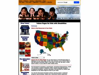 yellowpagesforkids.com screenshot