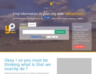yellowposts.com screenshot