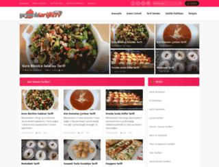 yemektarifleri.org screenshot