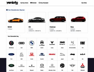 yenioto.com screenshot