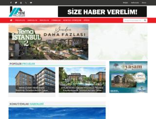 yeniprojeler.com screenshot
