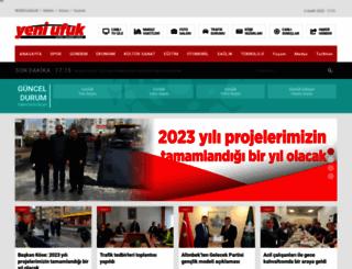 yeniufukgazetesi.com.tr screenshot