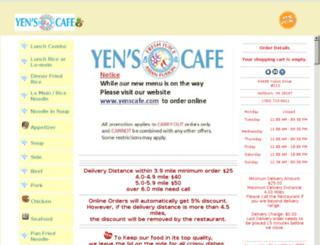 yenscafe.com screenshot