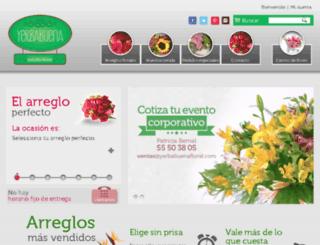 yerbabuenafloral.com screenshot