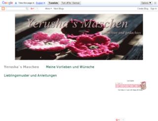 yerushas-maschen.blogspot.com screenshot