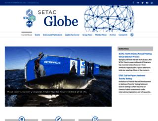 yes2016.setac.org screenshot